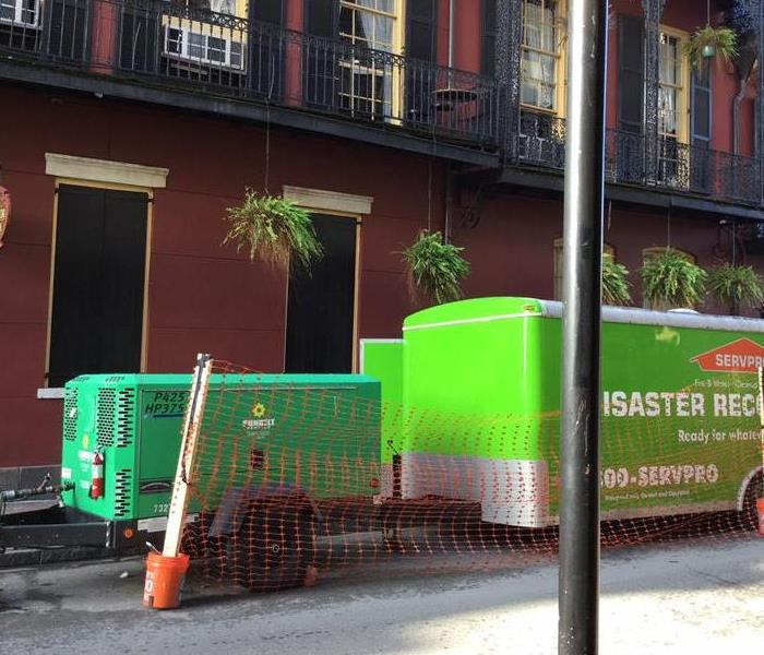 Apartment Water Damage in New Orleans